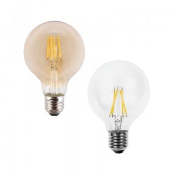 LED ЛАМПА FILAMENT 4W E27 G80