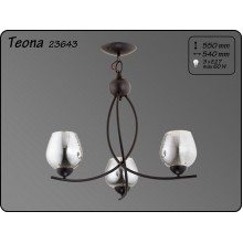 Висящо осветително тяло пендел серия - Teona х3   -  23643