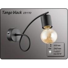 Осветително тяло за стена серия - Tango Black