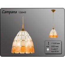 Висящо осветително тяло серия - Campana 12645