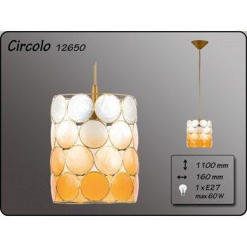 Висящо осветително тяло  серия - Circolo Gold