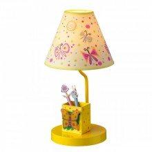Детска настолна лампа Butterfly 1xE27