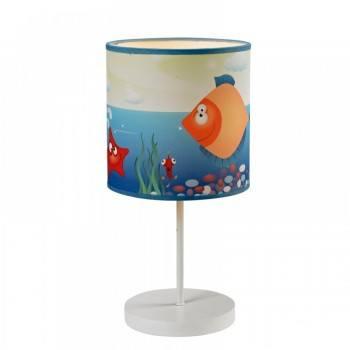 Детска настолна лампа Ocean 1xE14