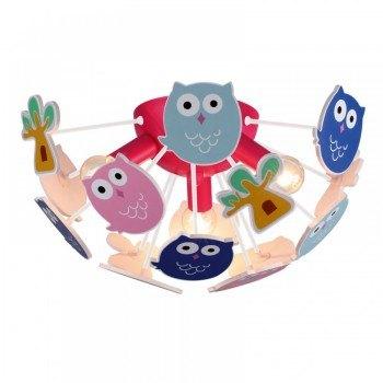 Детски полилей Owl 3xE14