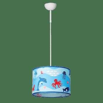 Висящо детско осветително тяло серия - Aquarium 1xE27