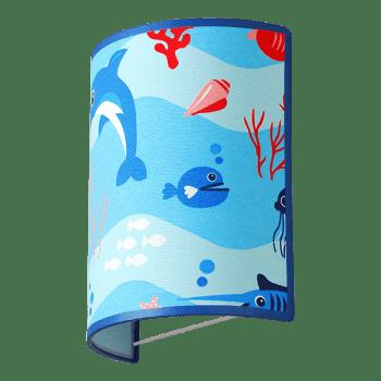 Осветително тяло за детска стая аплик Aquarium 1xE27