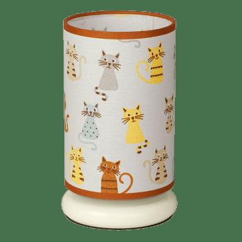 Детска настолна лампа серия - Cats ᴓ 130, 1xE27
