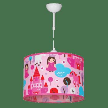Висящо детско осветително тяло серия - Princess 1xE27
