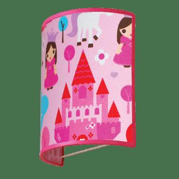 Осветително тяло за детска стая аплик Princess1xE27