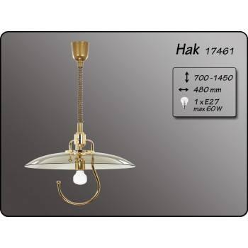 Висящо осветително тяло пендел тип асансьор серия - HAK GOLD 01455