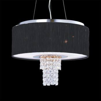 Висящо осветително тяло тип полилей, серия - Pashmina Black 33501
