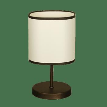 Настолна лампа серия - Cubo textinel 1х60W Крем
