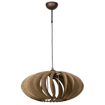 Висящо осветително тяло пендел серия - Meridian Walnut 252611