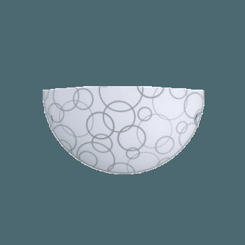 Осветително тяло за стена аплик серия - Air Бяло мат