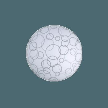 Осветително тяло за таван плафон серия - Air ф300 Бяло мат