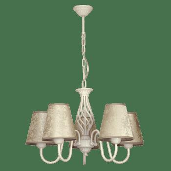 Висящо осветително тяло полилеи серия - Brunate 5xE27