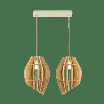 Пендел Tulip Крем + Круша, 2xE27