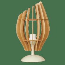 Настолна лампа ТЮЛИП крем + круша, 1xE27  252531