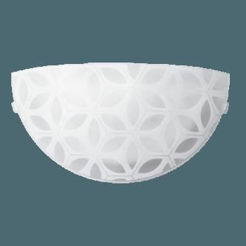 Осветително тяло за стена аплик серия - Decor Бяло мат