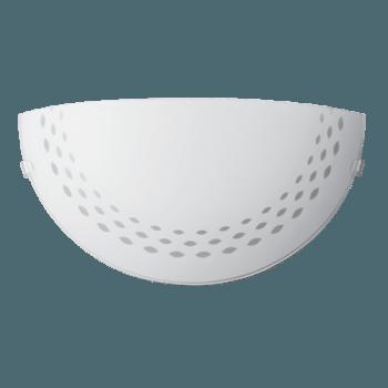 Осветително тяло за стена аплик серия - Ellipse Бяло мат