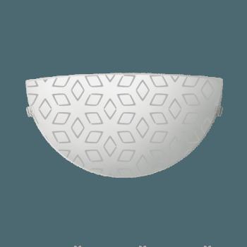 Осветително тяло за стена аплик серия - Iris Бяло