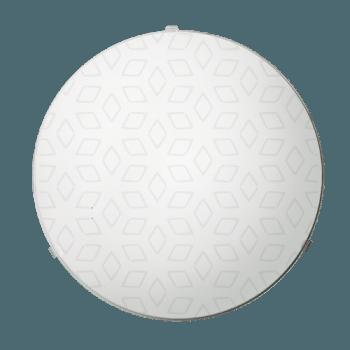 Осветително тяло за таван плафон серия - Iris ф300 Бяло