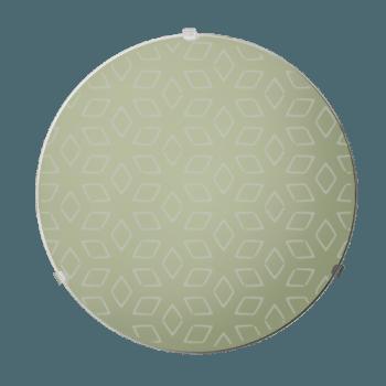 Осветително тяло за таван плафон серия - Iris ф300 Крем