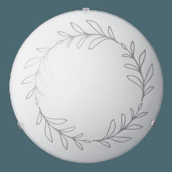 Осветително тяло за таван плафон серия - Kalia ф300 Бяло мат