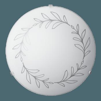 Осветително тяло за таван плафон серия - Kalia ф400 Бяло мат