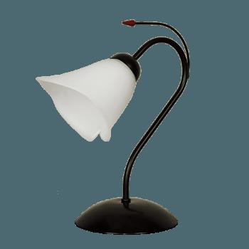 Настолна лампа серия - Kamelia 1xE27 Черно
