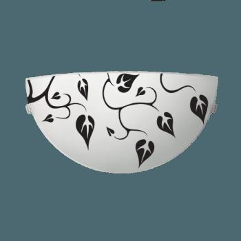 Осветително тяло за стена аплик серия - Liana White & Black