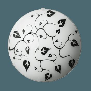 Осветително тяло за таван плафон серия - Liana ф300 White & Black