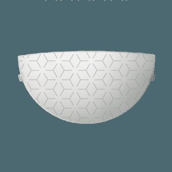 Осветително тяло за стена аплик серия - Lotos Бяло