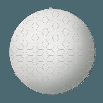 Осветително тяло за таван плафон серия - Lotos ф300 Бяло