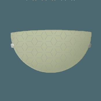 Осветително тяло за стена аплик серия - Lotos Ecru