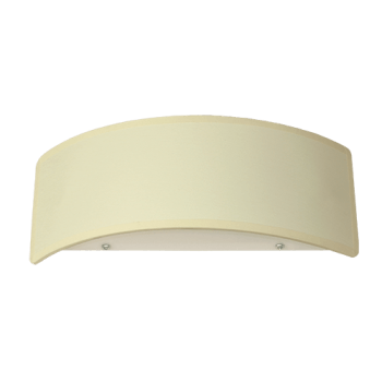 Осветително тяло за стена аплик малък, серия - Metropol, Cream