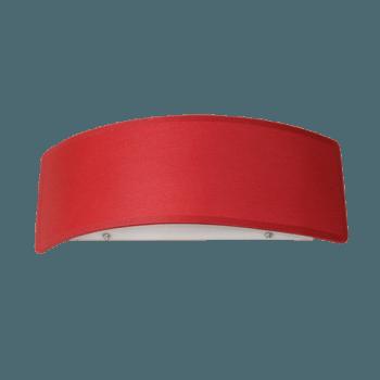 Осветително тяло за стена аплик малък, серия - Metropol, Bordo 245901