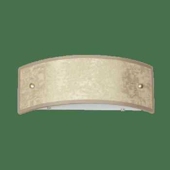 Осветително тяло за стена аплик малък, серия - Metropol, Бронз