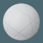 Осветително тяло за таван плафон серия - Mikado ф300