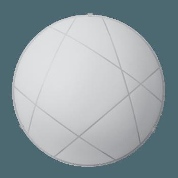 Осветително тяло за таван плафон серия - Mikado ф400 Бяло мат
