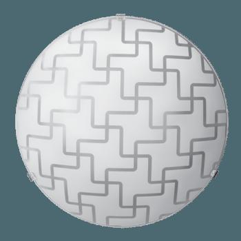 Осветително тяло за таван плафон серия - Motiv ф300 Бяло мат