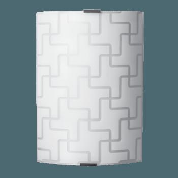 Осветително тяло за стена аплик серия - Motiv Бяло мат