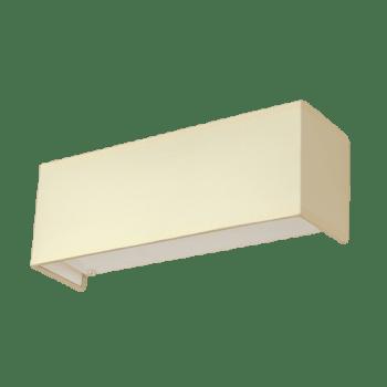 Осветително тяло за стена аплик серия - Rits хоризонтален, Крем