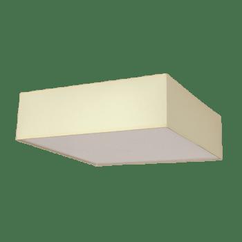 Осветително тяло за таван плафон серия - Rits, Крем