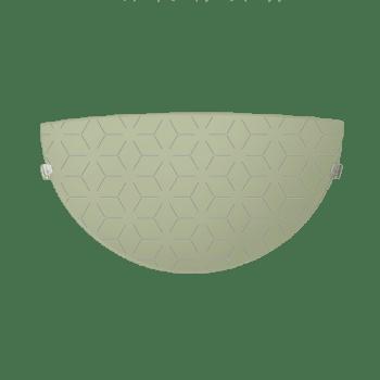 Осветително тяло за стена аплик серия - Lotos Крем