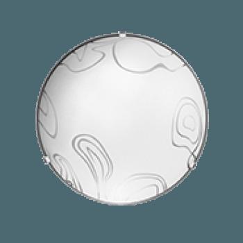 Осветително тяло за таван плафон серия - Symphony ф300 Бяло