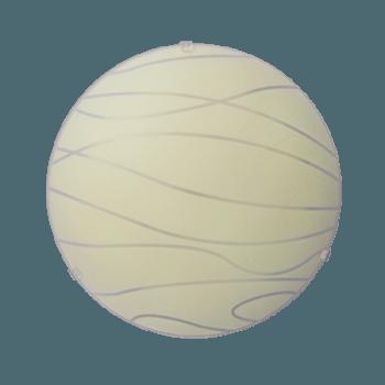 Осветително тяло за таван плафон серия - Skanda ф300 Крем мат