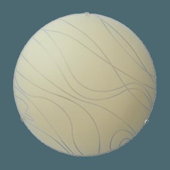 Осветително тяло за таван плафон серия - Skanda ф400 Крем мат