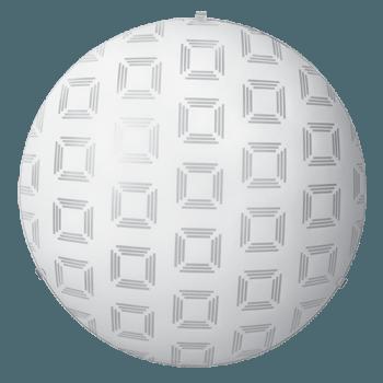 Осветително тяло за таван плафон серия - Squares Бяло мат