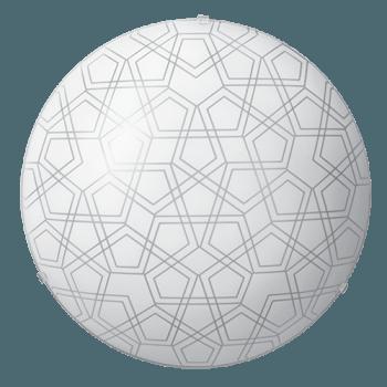 Осветително тяло за таван плафон серия - Triada Бяло мат